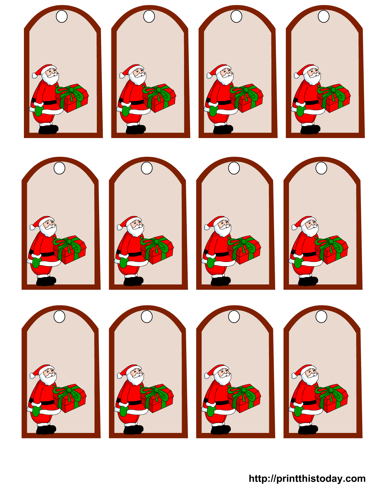 4 Images of Printable Christmas Gifts