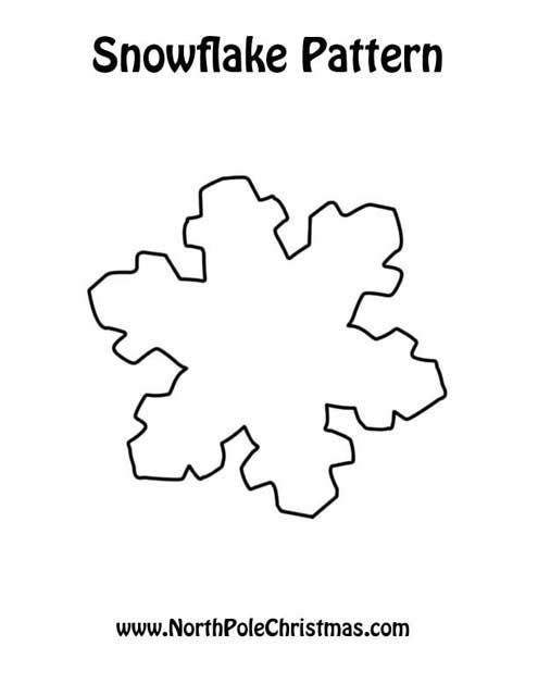 Printable Christmas Snowflake Patterns