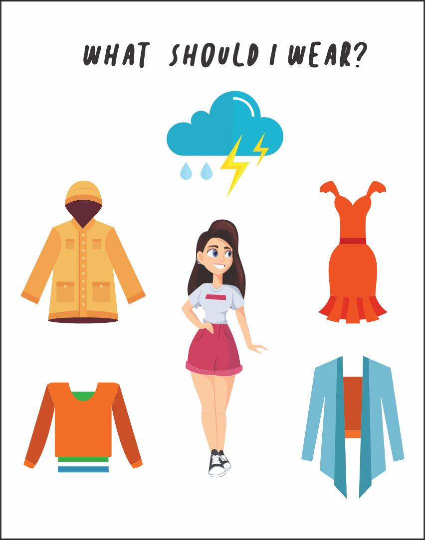 Printable Clothing Worksheets