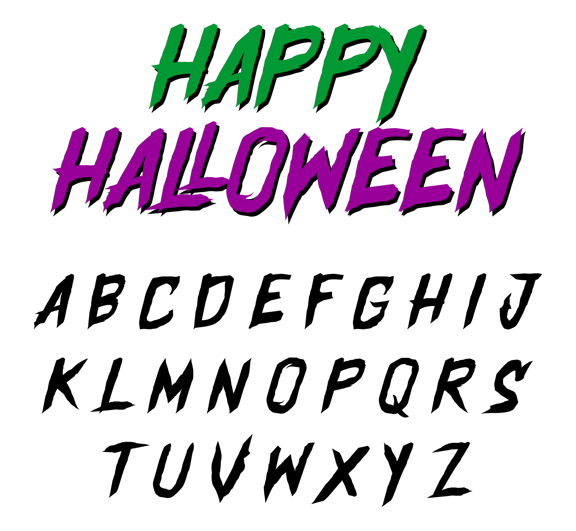 Printables & Free Halloween Fonts
