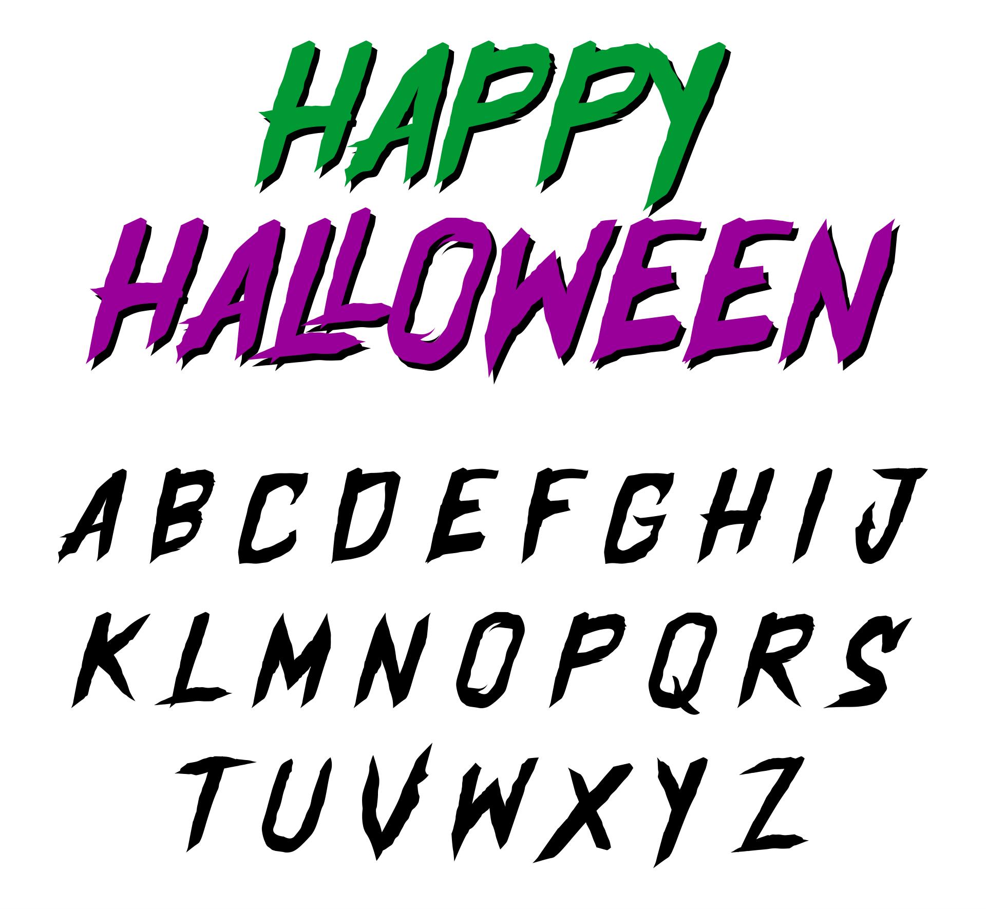Printables & Free Halloween Fonts