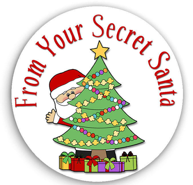 5 Images of Printable Secret Santa Gift Tags