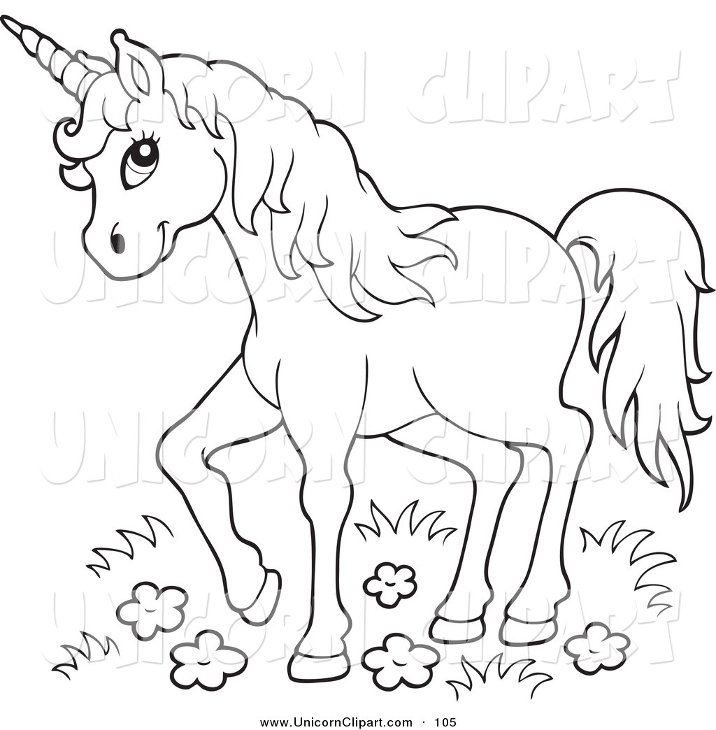 6 Images of Unicorn Art Free Printables