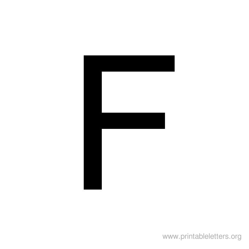 7 Images of 800 800 Printable Letter F