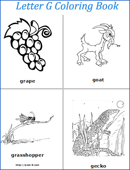 7 letter words beginning with g 7 best images of preschool letter g printable pages 25108 | words that start with letter g 411952