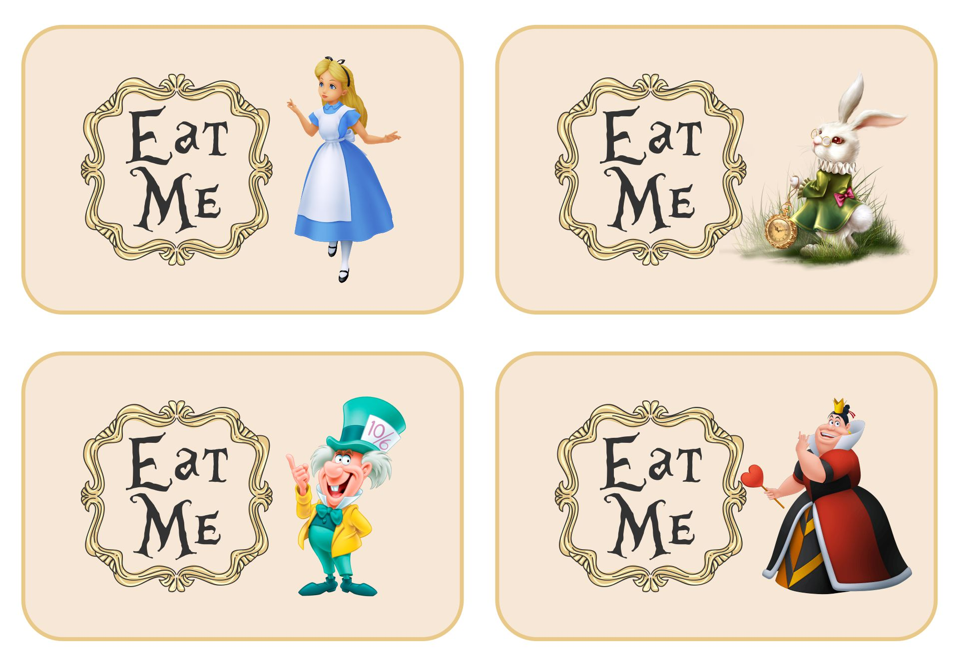 7 Best Eat Me Drink Me Printable Templates Printablee Com