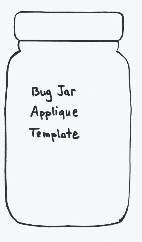 7 Best Images Of Printable Jar Template Pattern Bug Jar