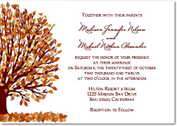 4 Images of Free Printable Fall Leaf Invitations