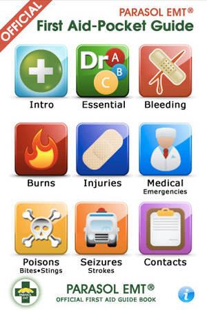 5 Images of Printable First Aid Pocket Guide