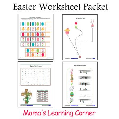 4 Images of Printable School Worksheets For Pre-K