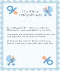 Printable Baby Boy Poems