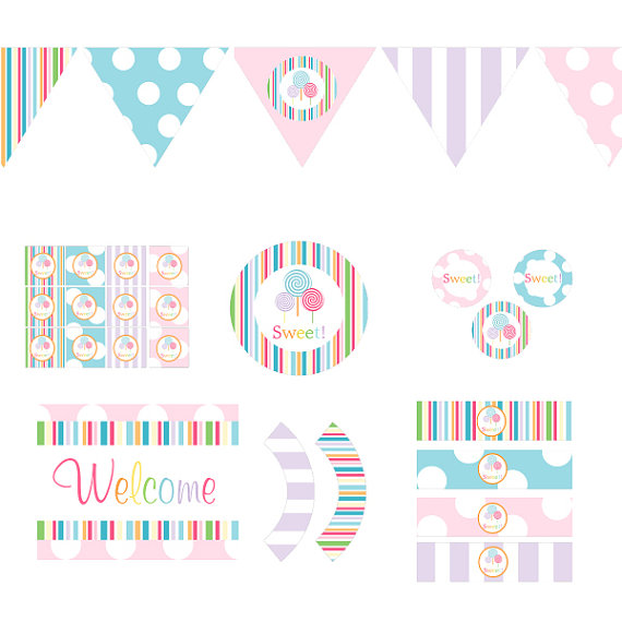 Free Printable Baby Shower Decorations