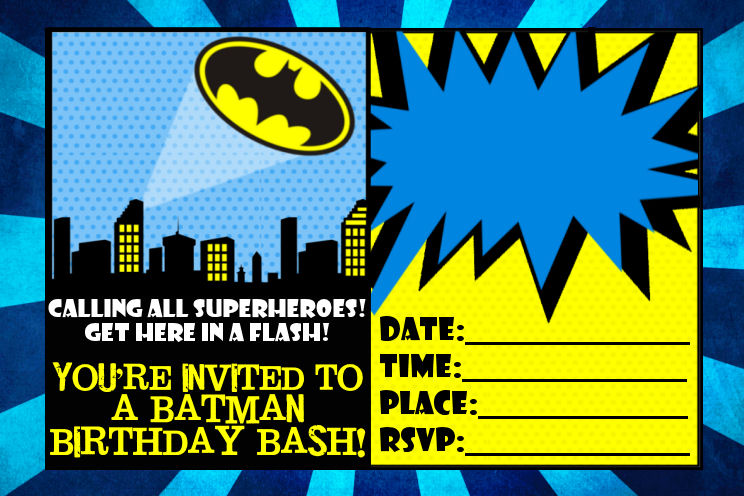 Superman Baby Shower Invitations with awesome invitations layout