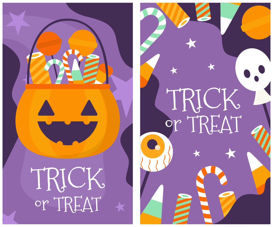 6 Images of Halloween Treat Tags Free Printable