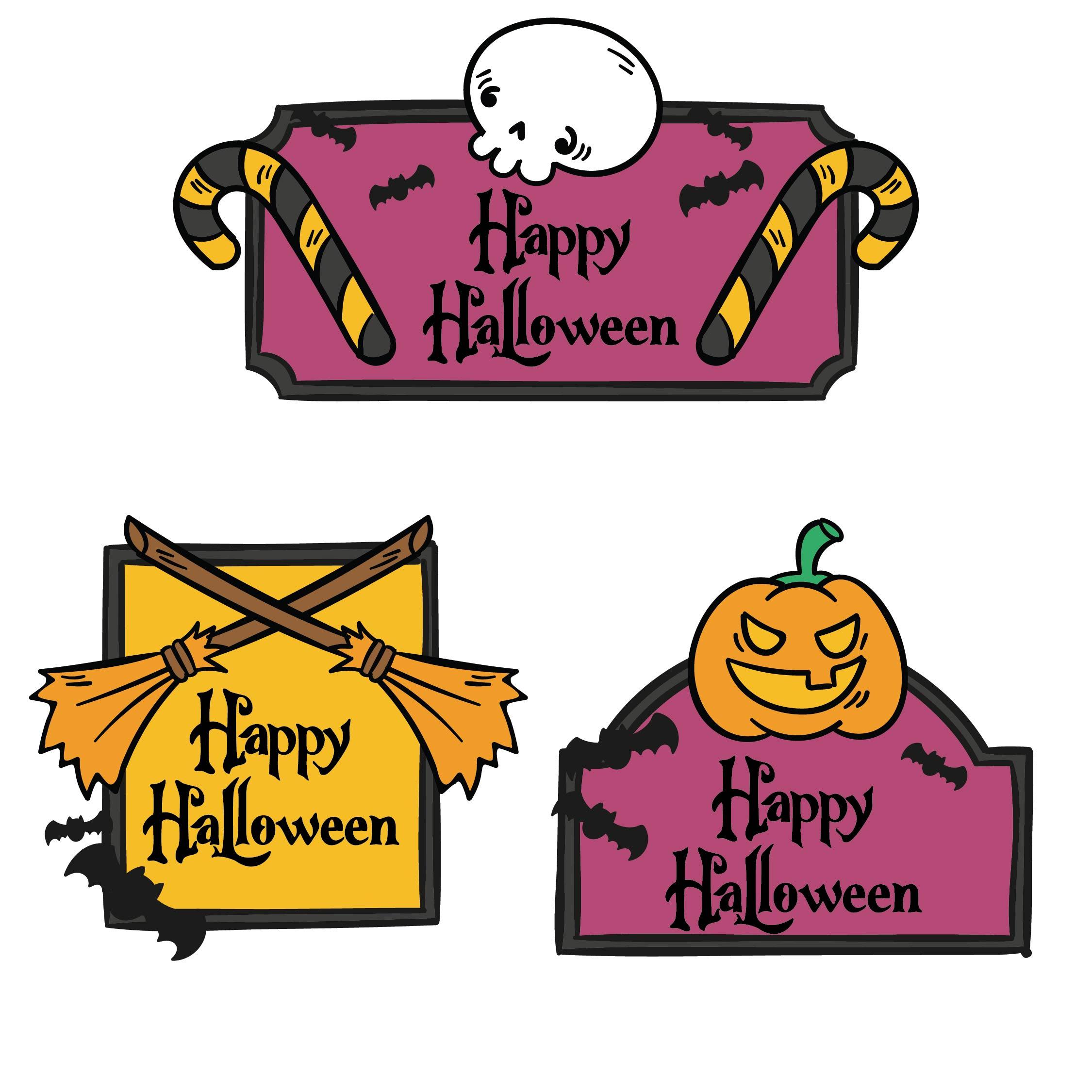 Printable Halloween Treat Tags