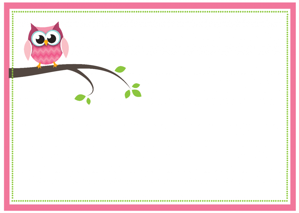 6 Images of Owl Baby Shower Printables PDF
