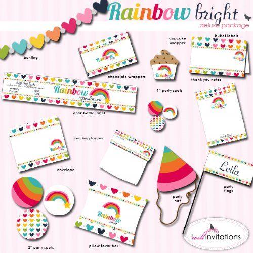 Happy Birthday Rainbow Bright