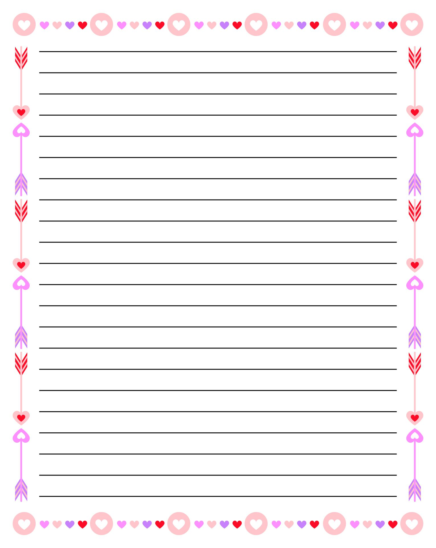 It is a picture of Free Printable Notebook Paper within journal