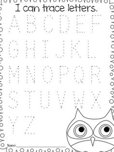 Worksheets Pre K Abc Worksheets www printablee compostpic200909letter tracing