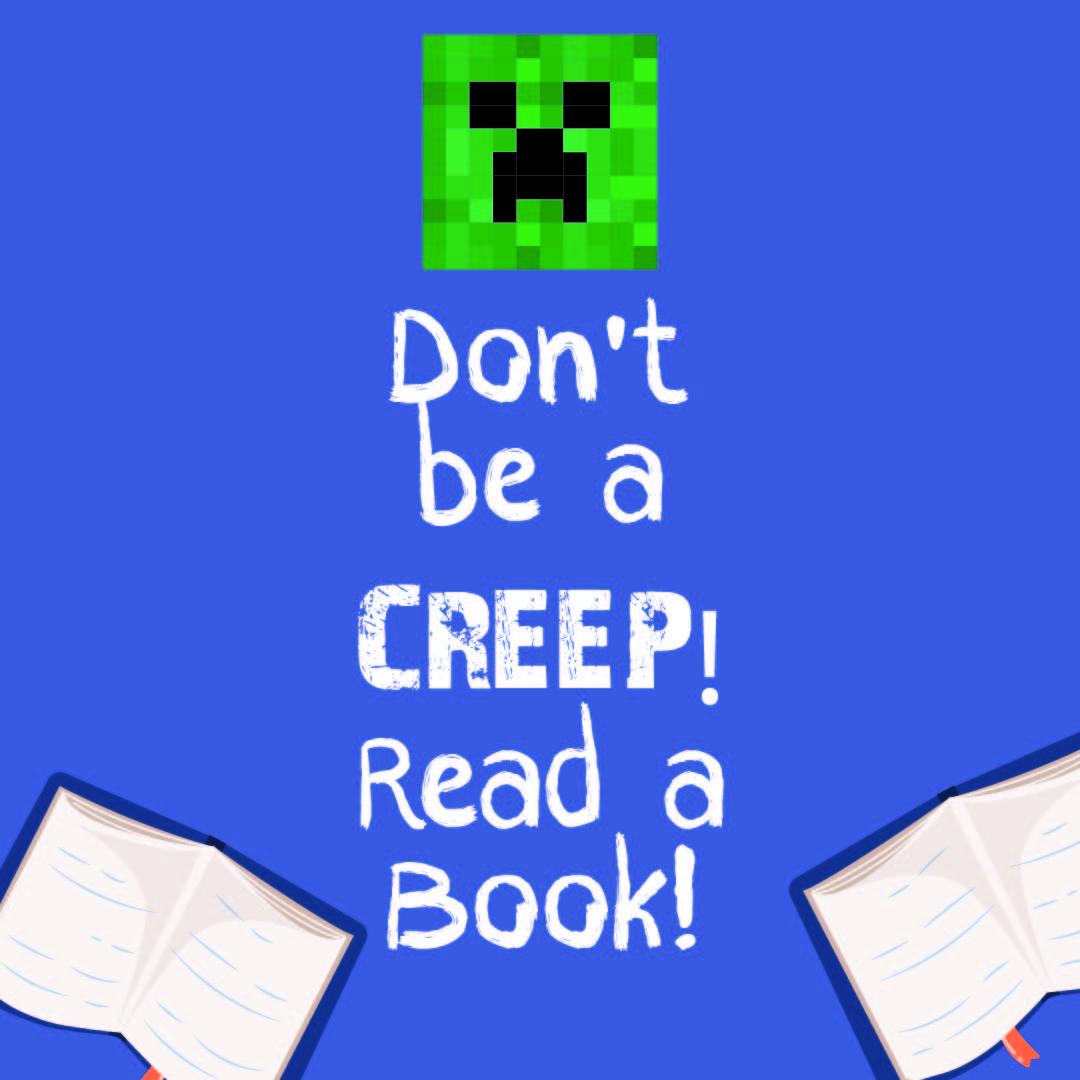 Minecraft Creeper Bookmark