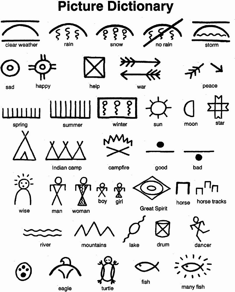 Native American Symbols Dictionary