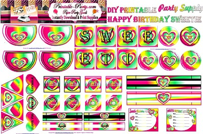 Party Decoration Printables Free