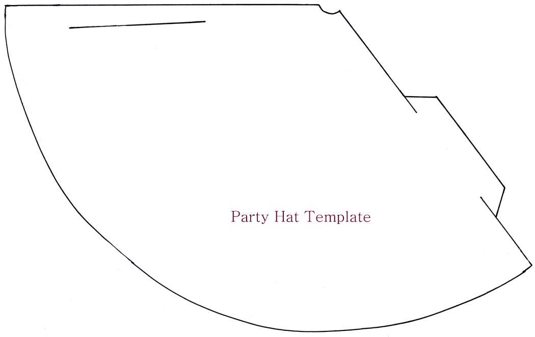 7 Images of New Year Party Hat Template Printable