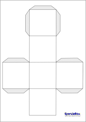 7 Images of Blank Printable Dice Cut Out