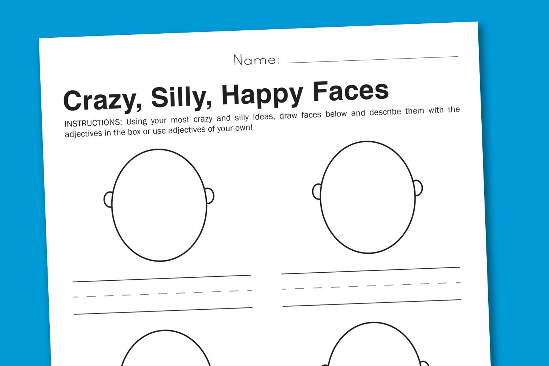 Printables Free Printable Art Worksheets 7 best images of free printable art worksheets language arts emotion for kids