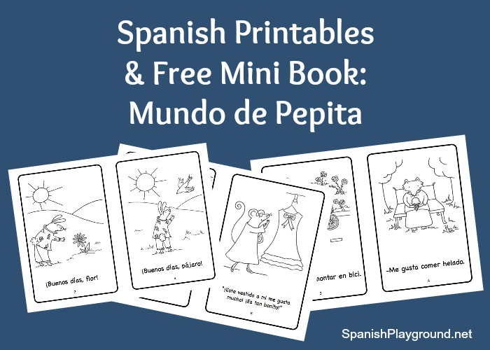 4 Images of Printable Spanish Alphabet Books