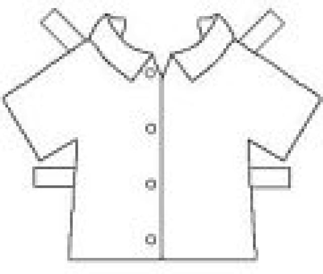 4 Images of Clothes Cutouts Printable
