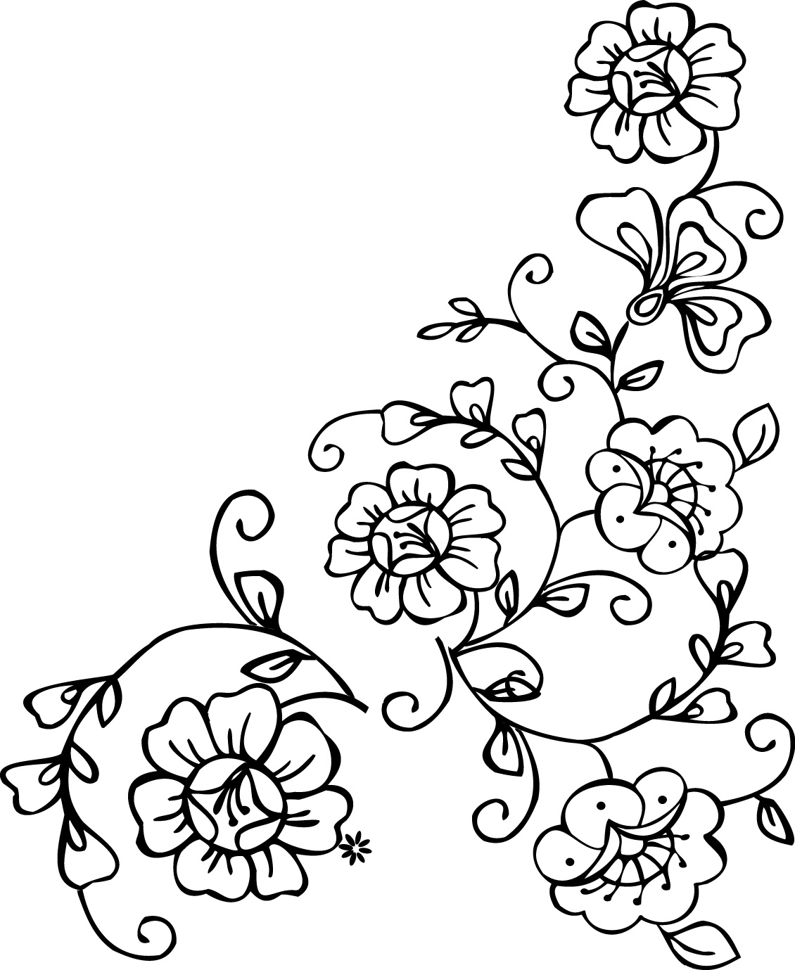 5 Best Images of Printable Paisley Stencil Designs - Free ...