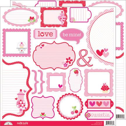 Satisfactory image with free printable scrapbook cutouts