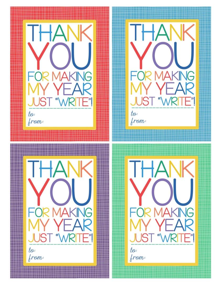 6 Images of Teacher Gift Free Printable Christmas Tags
