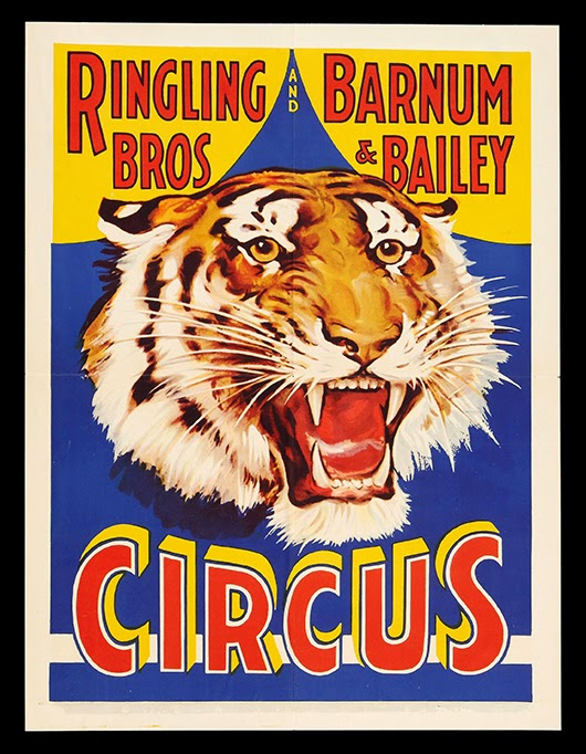 8 Images of Circus Printable Posters