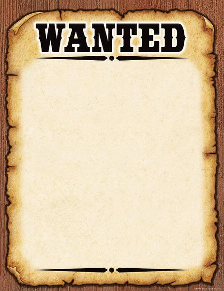 8 Images of Wanted Printable Sign Free Template