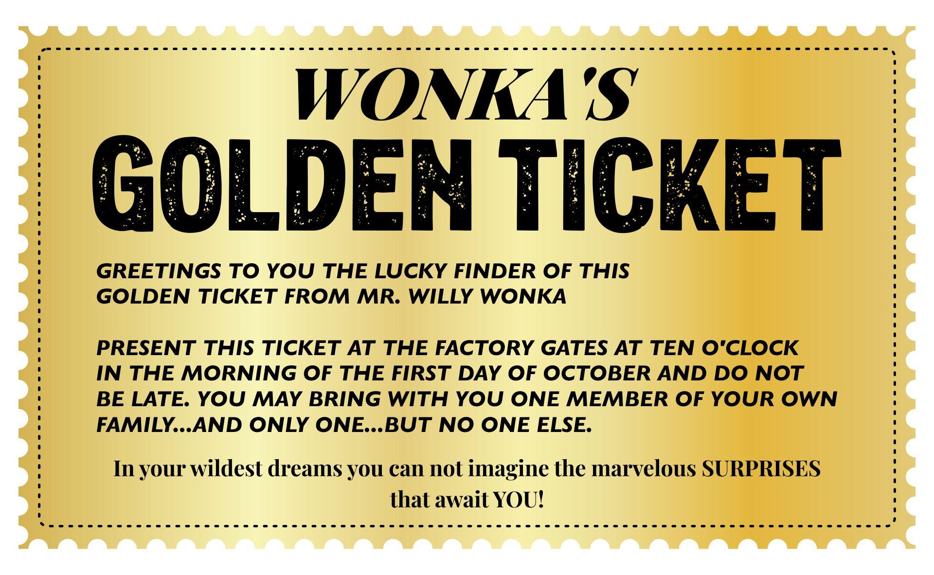 Printable Wonka Golden Ticket - Printable Wonka Golden Ticket Template ...