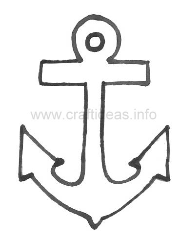 7 Images of Anchor Cut Out Template Printable