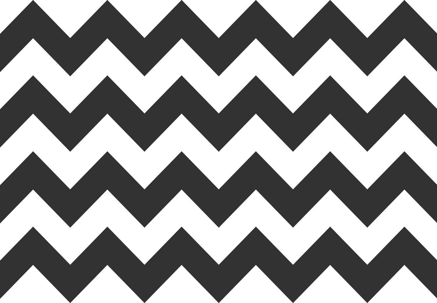 6 Images of Chevron Pattern Printable Cut Out