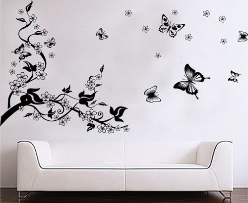 7 Images of Printable Butterfly Wall Decals