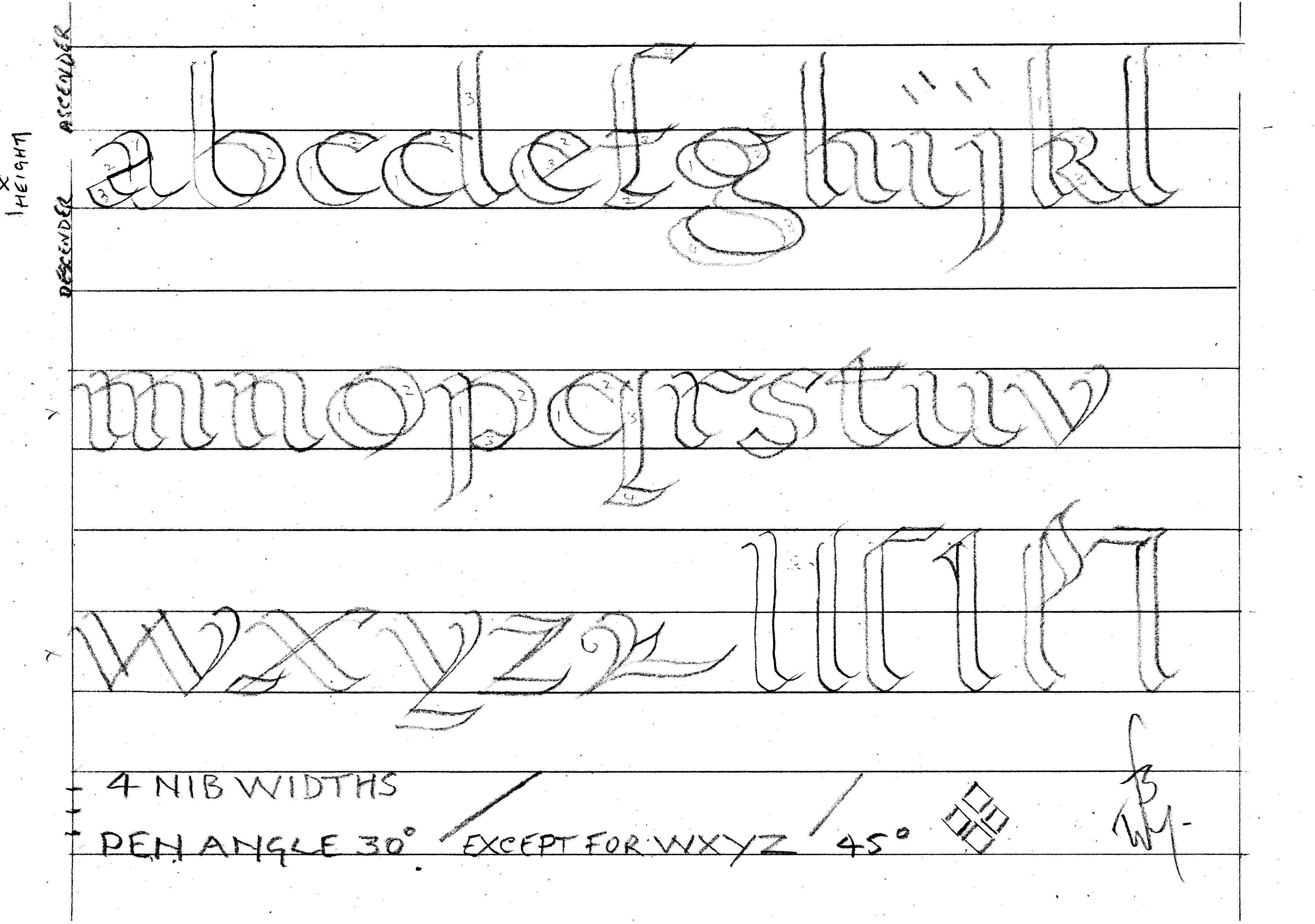 math worksheet : 8 best images of calligraphy alphabet worksheet printable  free  : Alphabet Practice Worksheets For Kindergarten
