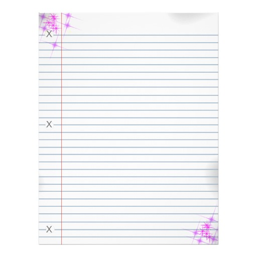 6 Best Images of Cute Printable Notebook Paper - Free ...