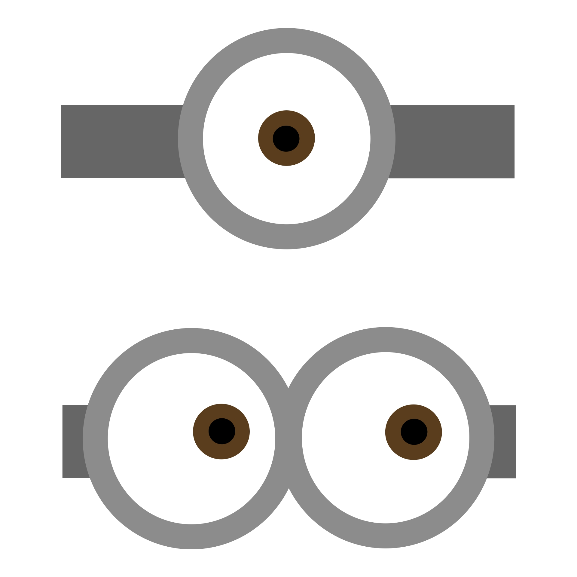 Despicable Me Minion Eyes Printable