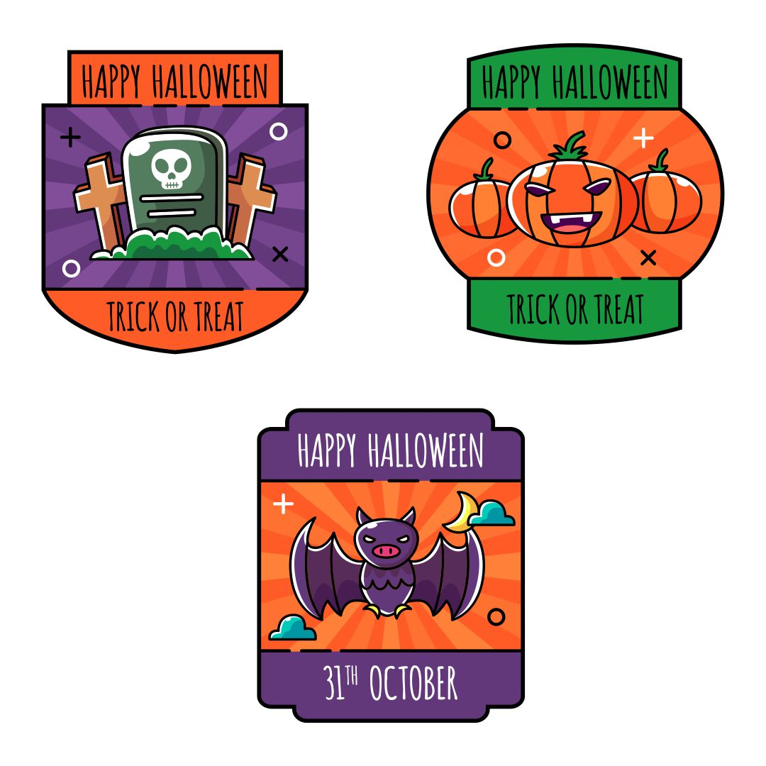 8 Images of Halloween Free Party Printables