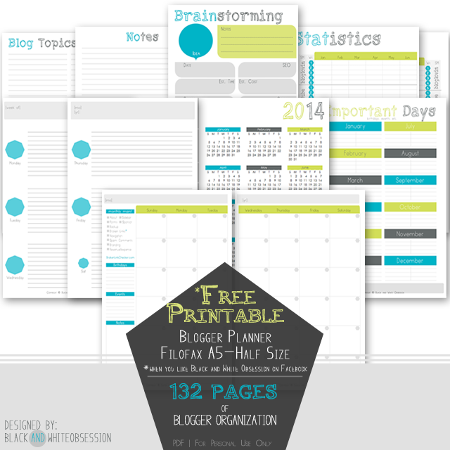 Free Planner Printables A5