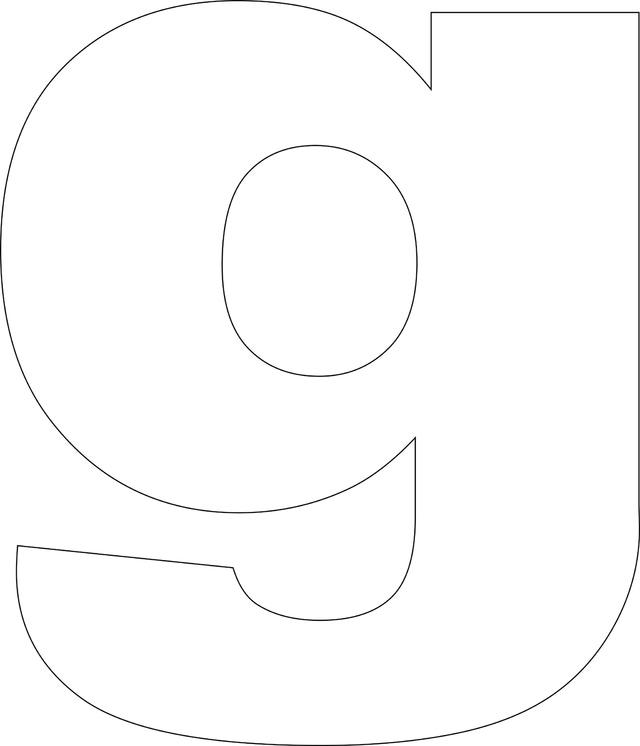 Printable Alphabet Templates Lower Case Letter