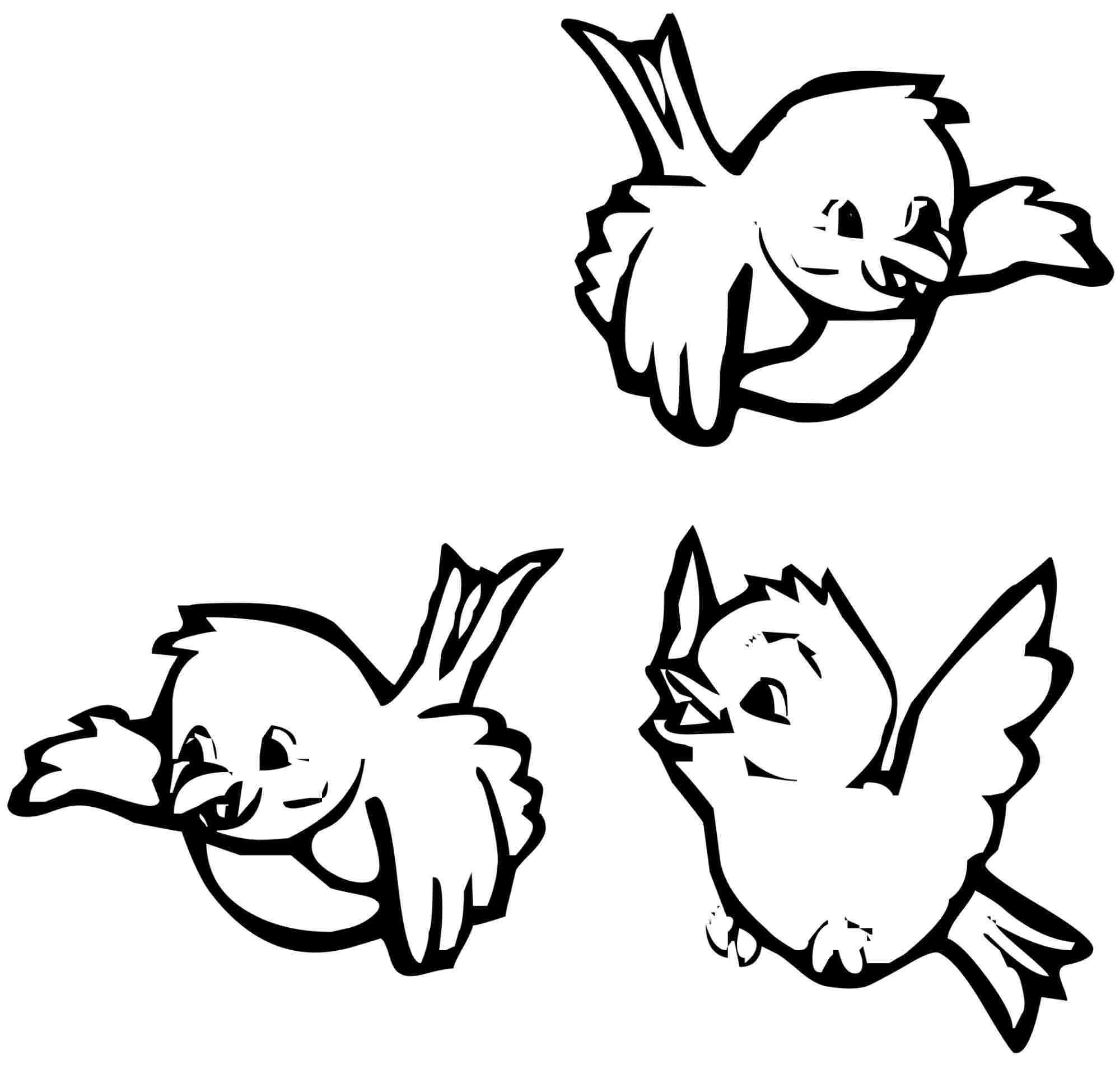 bird coloring pages free printables - photo#32
