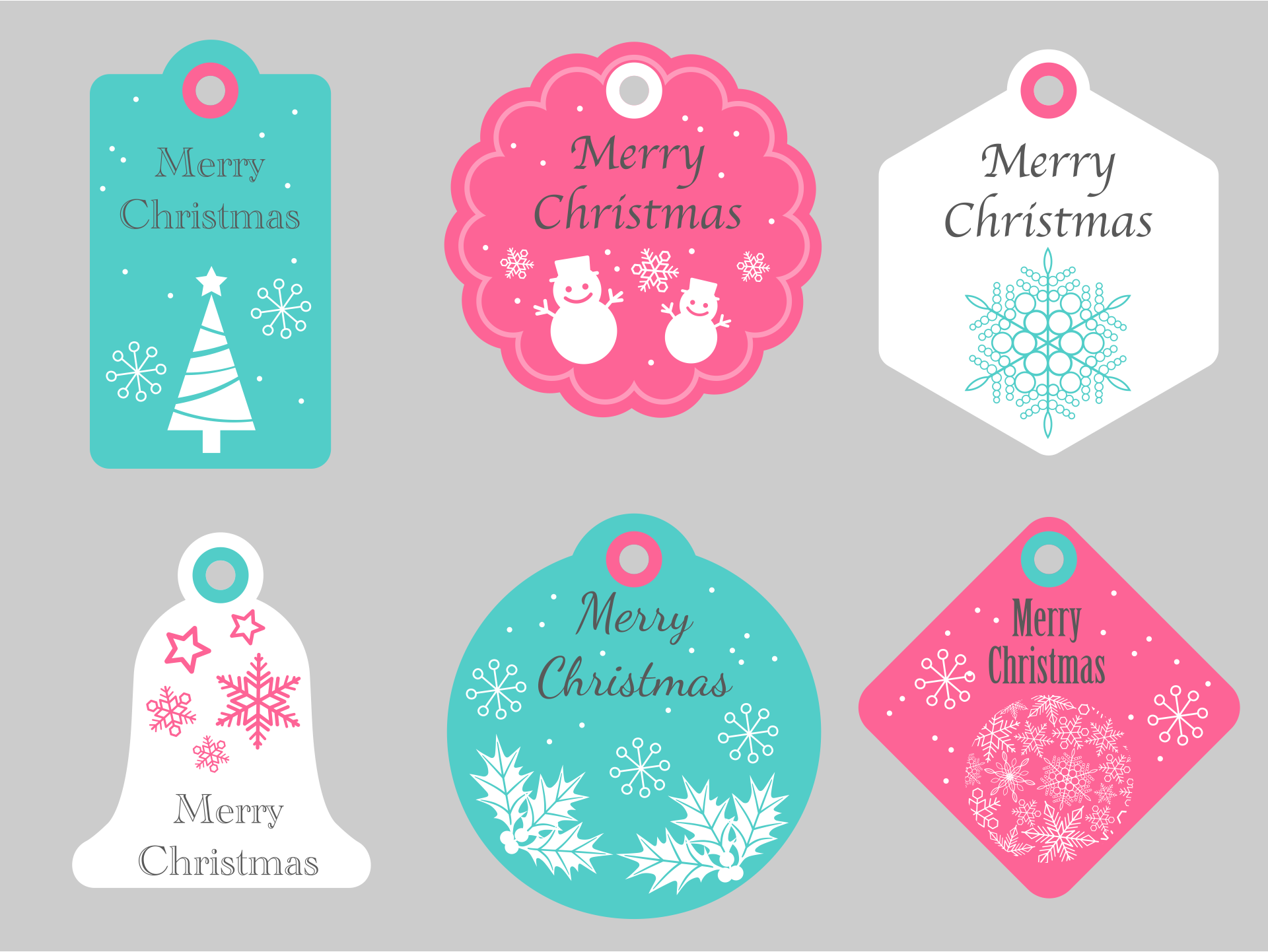 8 best images of free christmas printable label template for Free downloadable labels template