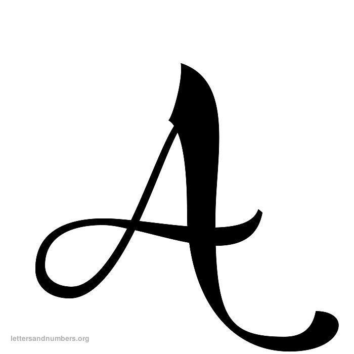 8 Best Images Of Vintage Printable Alphabet Letters Free
