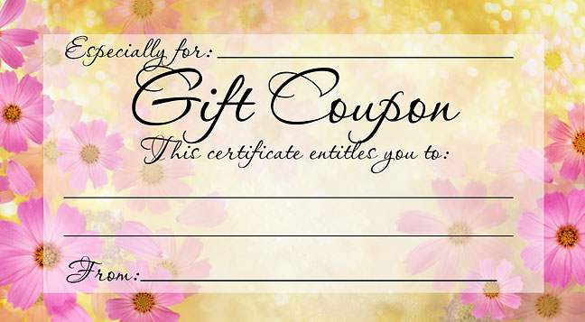 make your own gift certificate template - 5 best images of printable cards for promotion make your